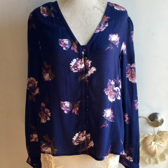 NWT Lucky Brand floral top